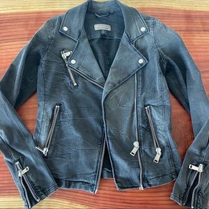 Guess spring jacket size S moto style
